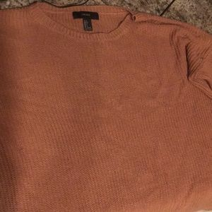 knitted Forever 21 pink sweater worn once